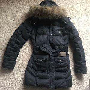 Adidas long puffer jacket